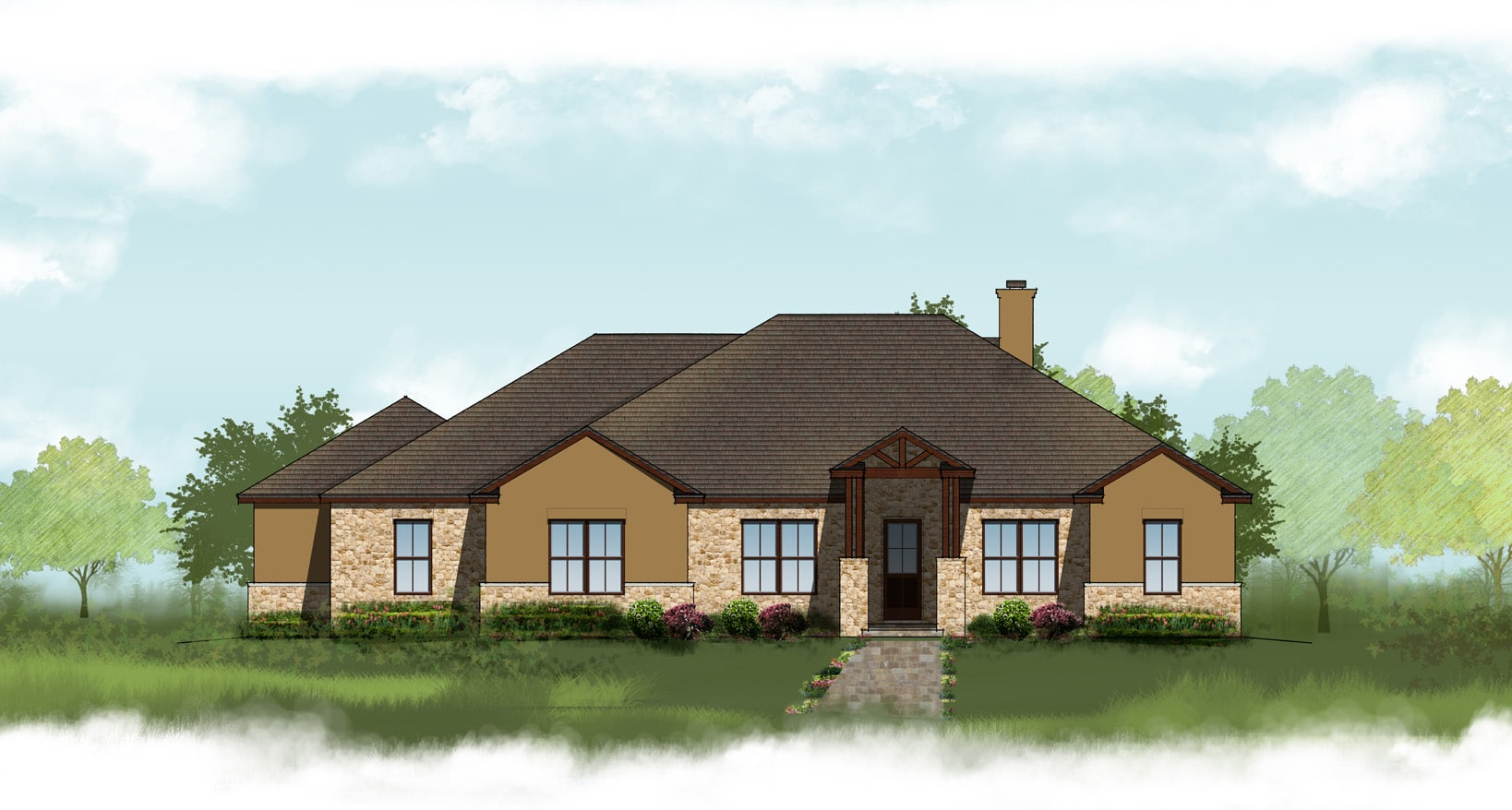 The Osage Clear Rock Homes