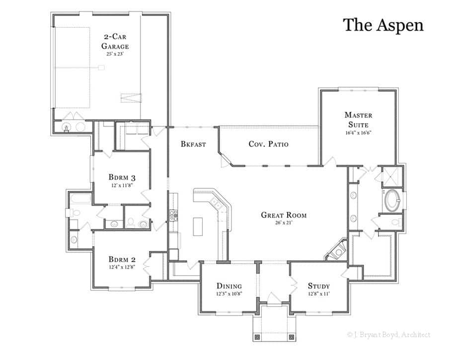 The aspen clear rock homes for Aspen homes floor plans