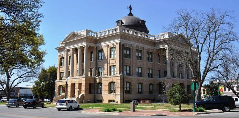 Georgetown Texas capital building.