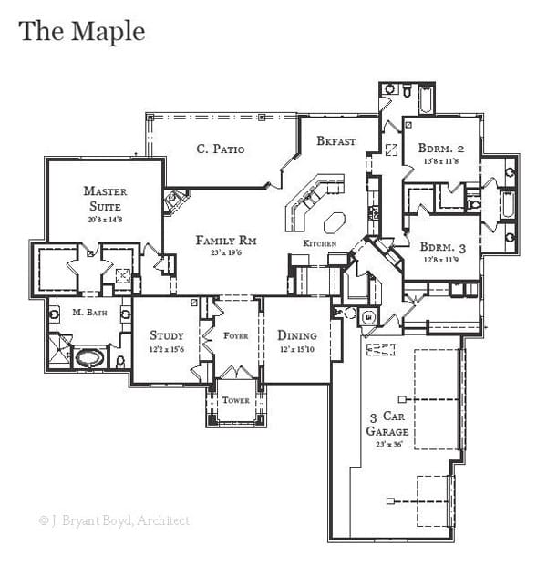 The Maple Clear Rock Homes