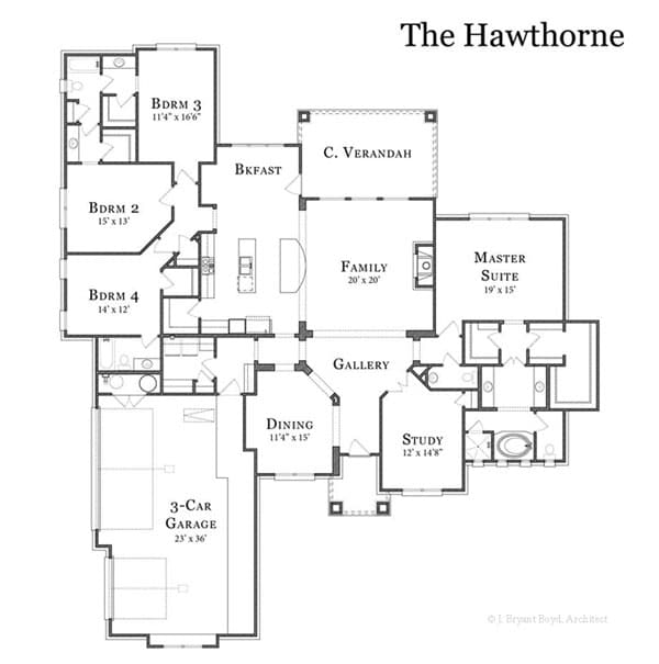The Hawthorne Floor Plan