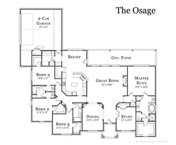 The Osage Floor Plan