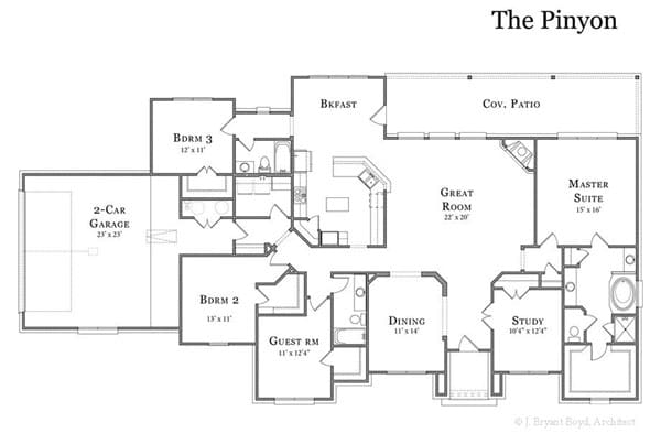 The Pinyon Floor Plan