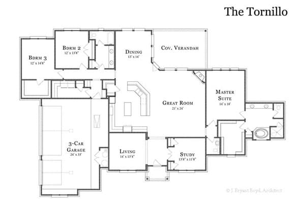 The Tornillo Floor Plan