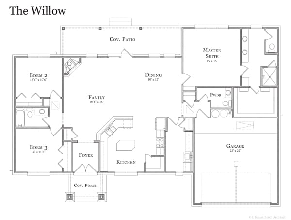 Willow Floor Plan
